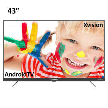 تلویزیون ال ای دی هوشمند ایکس ویژن مدل ۴۳XT745 سایز ۴۳ اینچ