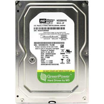 هارد دیسک اینترنال وسترن دیجیتال مدل WD AV-GP WD3200AVVS ظرفیت ۳۲۰ گیگابایت