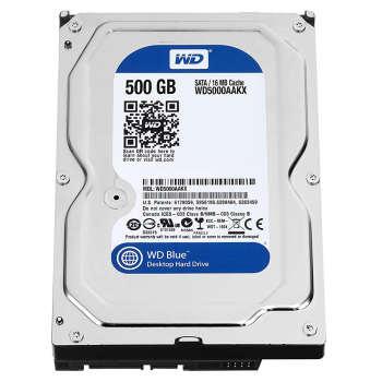 هارد دیسک اینترنال وسترن دیجیتال مدل WD BLUE WD5000AAKX ظرفیت ۵۰۰ گیگابایت
