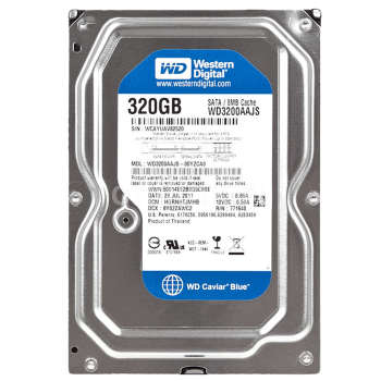 هارد دیسک اینترنال وسترن دیجیتال مدل WD BLUE WD3200AAJS ظرفیت ۳۲۰ گیگابایت