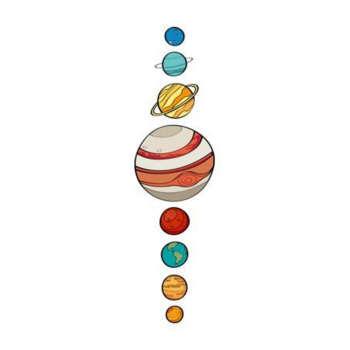 استیکر لپ تاپ طرح کهکشان کد ۱۷۸۳