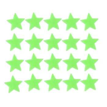 استیکر کودک طرح ستاره شب تاب کد DGS بسته ۶۰ عددی