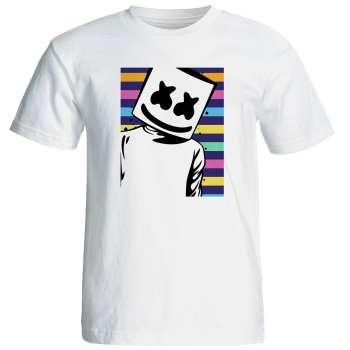 تی شرت مردانه طرح مارشملو  کد ۱۷۲۵۷