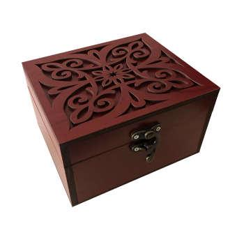جعبه هدیه چوبی مدل j54