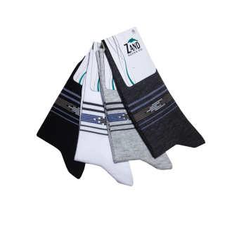 جوراب مردانه زند کد ۲۵ مجموعه ۴ عددی
