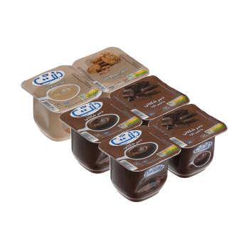 دسر دنت با طعم بیسکویت و شکلات – ۱۰۰ گرم مجموعه ۶ عددی