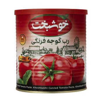 رب گوجه فرنگی خوشبخت مقدار ۸۰۰ گرم