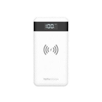 شارژر همراه بی سیم توتو مدل PBW01 با ظرفیت ۱۰۰۰۰ میلی آمپر ساعت