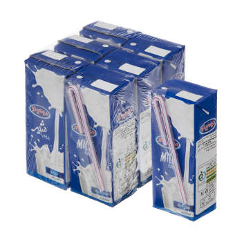 شیر پر چرب دومینو – ۰٫۲ لیتر  بسته ۶ عددی