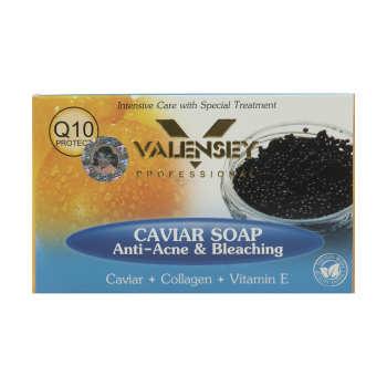 صابون ضد آکنه والنسی حاوی عصاره خاویار مقدار ۱۲۰ گرم
