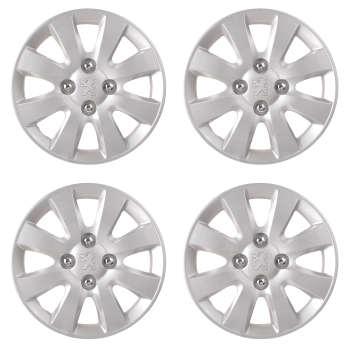 قالپاق چرخ تی پی ای مدل TPA-P04 سایز ۱۴ اینچ مناسب برای پژو SLX بسته ۴ عددی