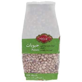 لوبیا چیتی گلستان مقدار ۹۰۰ گرم