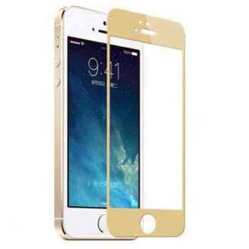 محافظ صفحه نمایش طلایی برای آیفون ۵/۵S