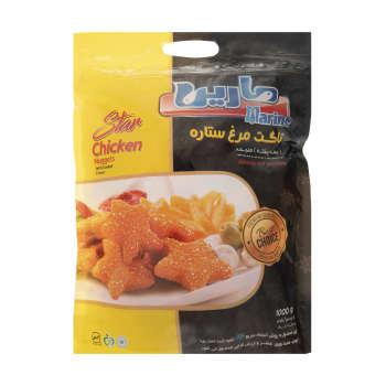 ناگت مرغ ستاره ای مارین – ۱ کیلوگرم