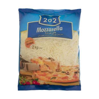 پنیر پیتزا موزارلا ۲۰۲ – ۲ کیلوگرم