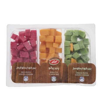 پنیر گودا پستو سبز / قرمز / پراتو کاله مقدار ۳۰۰ گرم