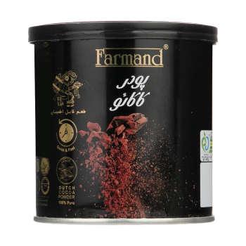 پودر کاکائو فرمند مقدار ۱۰۰ گرم