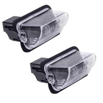 چراغ پلاک خودرو قطعه سازان کبیر  مدل PC-08 مناسب برای پژو ۲۰۶ بسته ۲ عددی