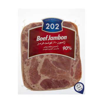 ژامبون گوشت ۹۰ درصد ۲۰۲ وزن ۳۰۰ گرم