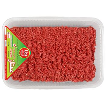 گوشت چرخکرده گوساله پویا پروتئین وزن ۵۰۰ گرم