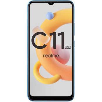 گوشی موبایل ریلمی مدل c11 2021 RMX3231 دو سیم کارت ظرفیت ۳۲ گیگابایت و رم ۲ گیگابایت