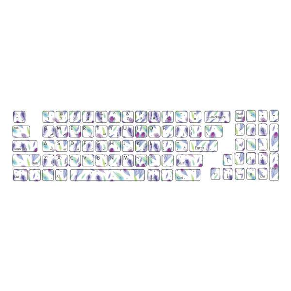 برچسبحروف فارسی کیبورد طرح پرکد ۱۰۲