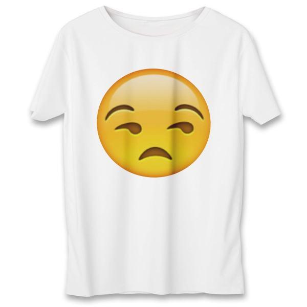 تی شرت یورپرینت به رسم طرح ایموجی کد ۳۶۱
