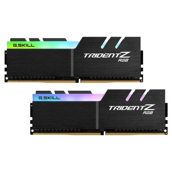رم دسکتاپ DDR4 دو کاناله ۳۶۰۰ مگاهرتز CL18 جی اسکیل مدل TRIDENTZ RGB ظرفیت ۶۴ گیگابایت