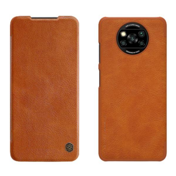 کیف کلاسوری نیلکین مدل QIN مناسب برای گوشی موبایل شیائومی POCO X3 / POCO X3 Pro / POCO X3 NFC