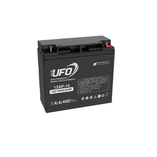 باتری یو پی اس ۱۲ ولت ۱۸ آمپر ساعت یوفو مدل ۱۲AP-18